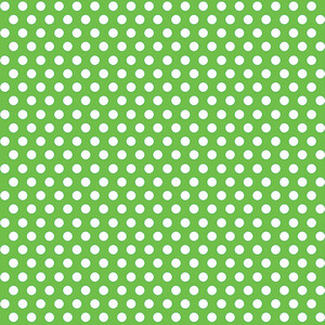 "30"" x 5 Ft Lime Green Dot Giftwrap"