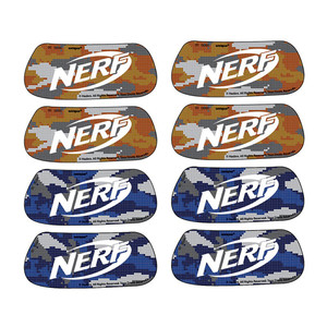 8 CT Pair Nerf Eyeblack Sticker