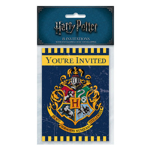 8 CT Harry Potter Invites