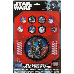 17 CT Star Wars Cake Decoration Kit