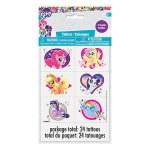 24 CT My Little Pony Tattoos