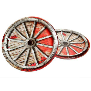 "8 CT 9"" Rodeo Western Plates"
