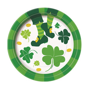 "8 CT 7"" St. Patrick's Jig Plate"
