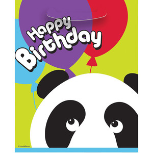 8 CT Birthday Panda Lootbags