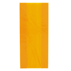 "11"" x 5"" 30 CT Orange Cello Bags"