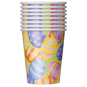 8 CT 9 Oz Spring Easter Cup