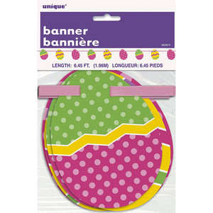 Easter Egg Cut Out Banner