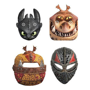 8 CT How to Train Your Dragon 3 Party Masks