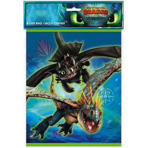 8 CT How to Train Your Dragon Loot Bags