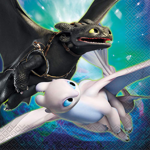 16 CT How to Train Your Dragon 3 Luncheon Napkins