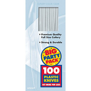 Medium Knife Weight Box Clear Big Party Pack