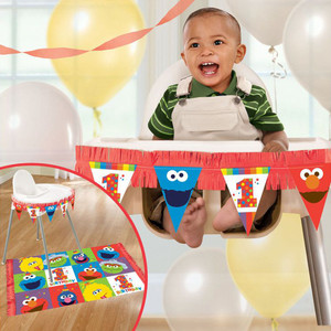 Decoration Kit High Chair Elmo One