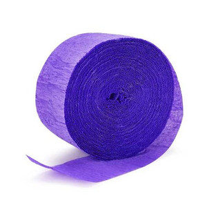 500' Crepe Streamer - New Purple