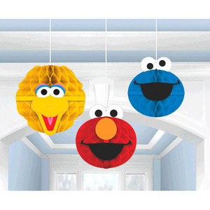 Decoration Honeycomb Sesame Street