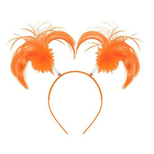 Headband Ponytail Orange