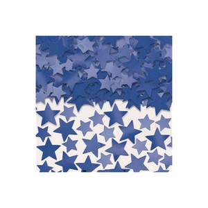 5 Oz Confetti Star Blue