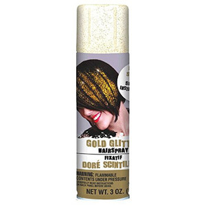 Hair Spray - Gold Glitter