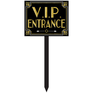 VIP Glitz & Glamour Large Yard Stake