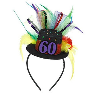 Fascinator 60th Birthday