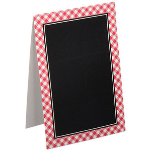 Cards Tent Chalkboard
