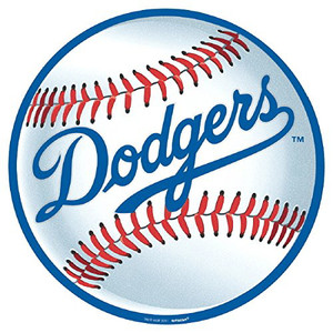 "12"" Bulk Los Angeles Dodgers Cutout"