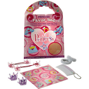 1  Princess favor tote