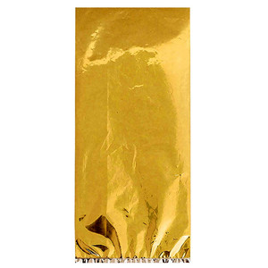 Cello Party Gold Foil Small Bag