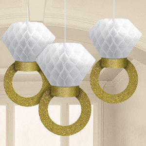 Honeycomb Hanging Ring Decoration