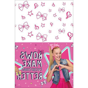 "54 x 102"" Table Cover Paper Jojo Siwa"