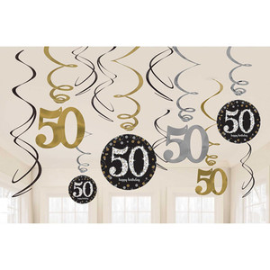 12 CT Swirls Sparkling Celebration 50