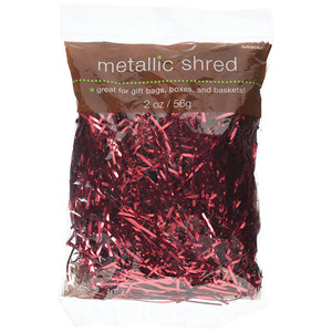 Shred Metallic - Red