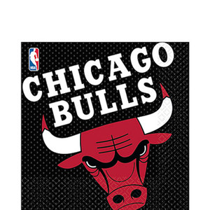 Luncheon Napkins Chicago Bulls