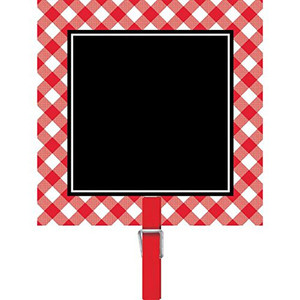 Chalkboard Picnic Party Clips