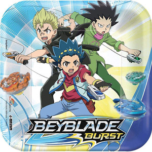 "7"" Square Beyblade Plate"