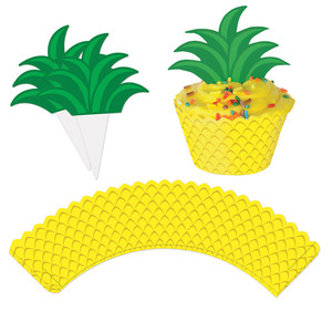 Pineapple Cupcake Wrappers