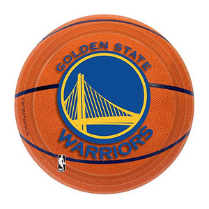 "7"" Plate Golden State Warriors"