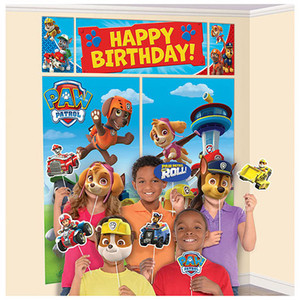 Paw Patrol Scene Setter with Props