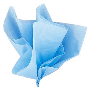 10 Ct Baby Blue Tissue Sheets