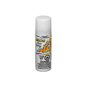4.5 Fl Oz Neon Hairspray White