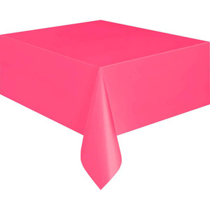 "54 x 108"" Hot Pink Tablecover"