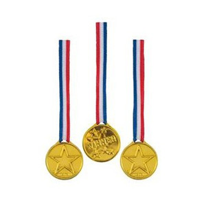 24 Ct Winner Medals