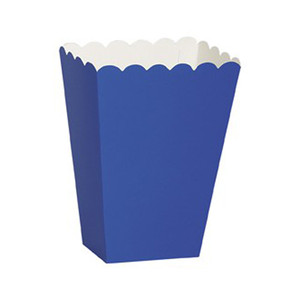 8 Ct Scallop Treat Boxes - Blue
