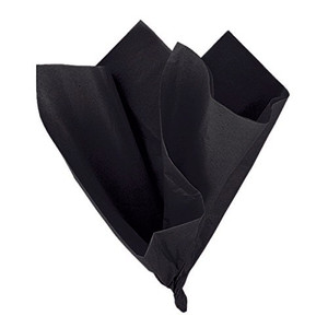 10 Ct Black Tissue Sheets