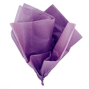 10 Ct Lavender Tissue Sheets