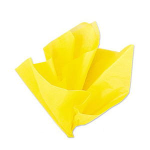 10 Ct Yellow Tissue Sheets