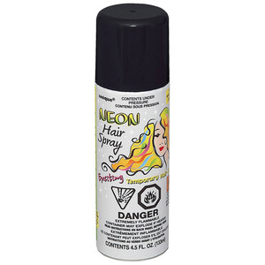 4.5 Fl Oz Neon Hairspray Black