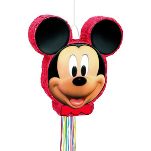 Micky Mouse Shaped Drum Pull Pinata
