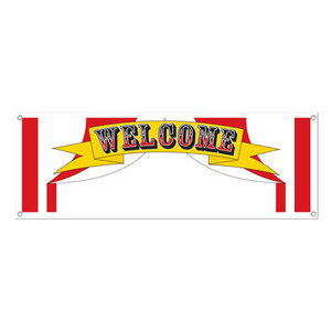 Welcome Sign Banner