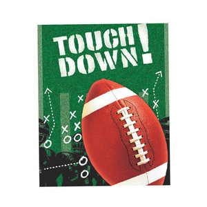 Football Frenzy Trend Setters Table Cover 3 Pack