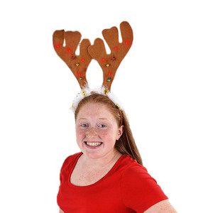 "14"" Light-up Antlers Headband"